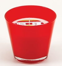 Conic glass red