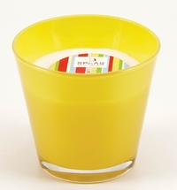 Conic glass yellow